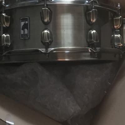 "Mapex BPBR4551ZN Black Panther Brass Cat 14x5.5"" Brass Snare Drum"