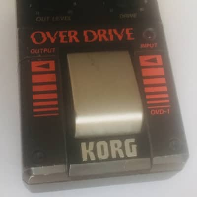 Korg OVD-1 Overdrive Japan 80s JRC4558DV Chip for sale