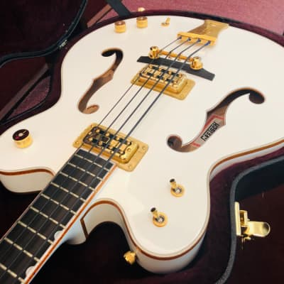 Gretsch G6136 LSB Gretsch White Falcon Bass for sale