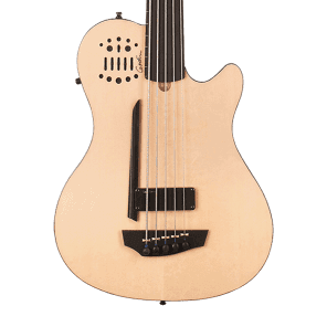 Godin A5 Ultra Semi-Acoustic Fretless 5-String Bass Natural