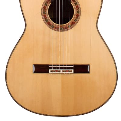 German Vazquez Rubio Francisco Barba 2014 Flamenco Guitar Spruce/Indian Rosewood for sale
