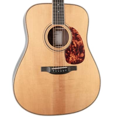 BOUCHER SG-52GI STUDIO GOOSE DREADNOUGHT WITH K&K PURE-MINI PICKUP, TORREFIED GOLD TOUCH ADIRONDACK for sale