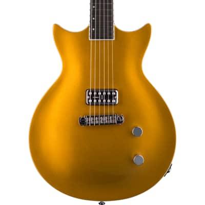 NEW Prestige DC Coupe ACE Gold Electric Guitar w/ TV Jones Pickup
