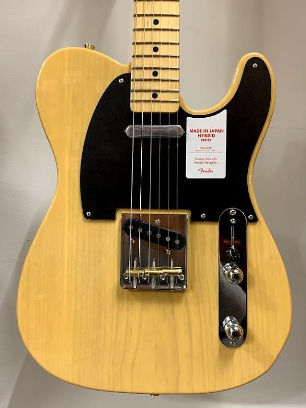 Fender Japan Hybrid 50s Telecaster 2018 Off-White Blonde