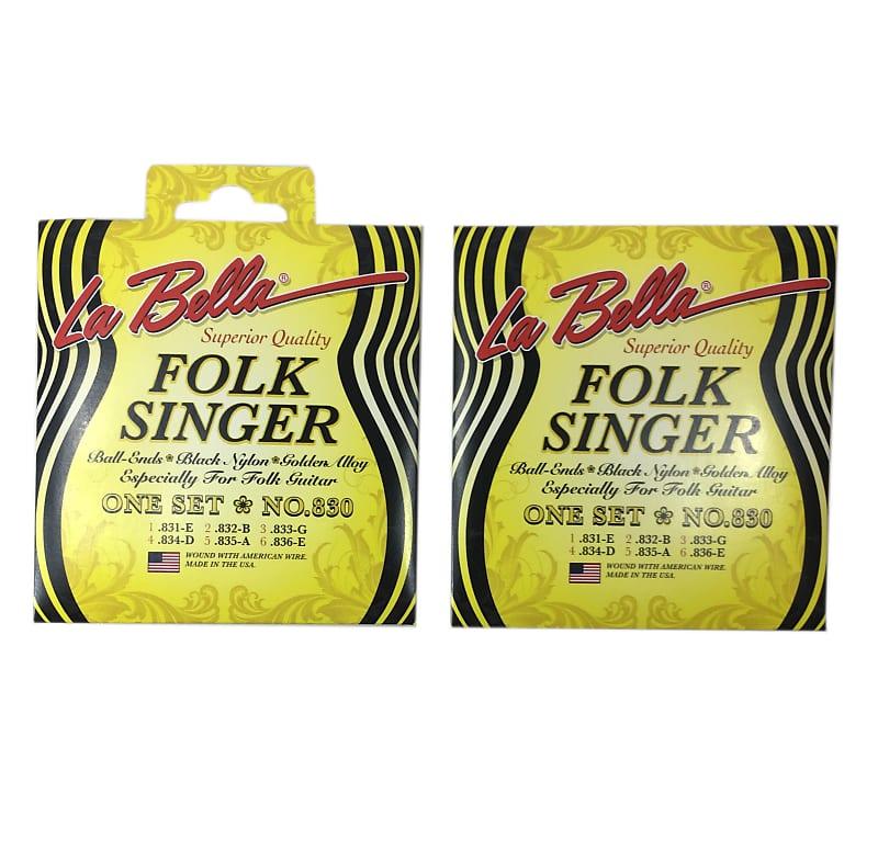 la bella guitar strings folk singer 830 ball end nylon for reverb. Black Bedroom Furniture Sets. Home Design Ideas