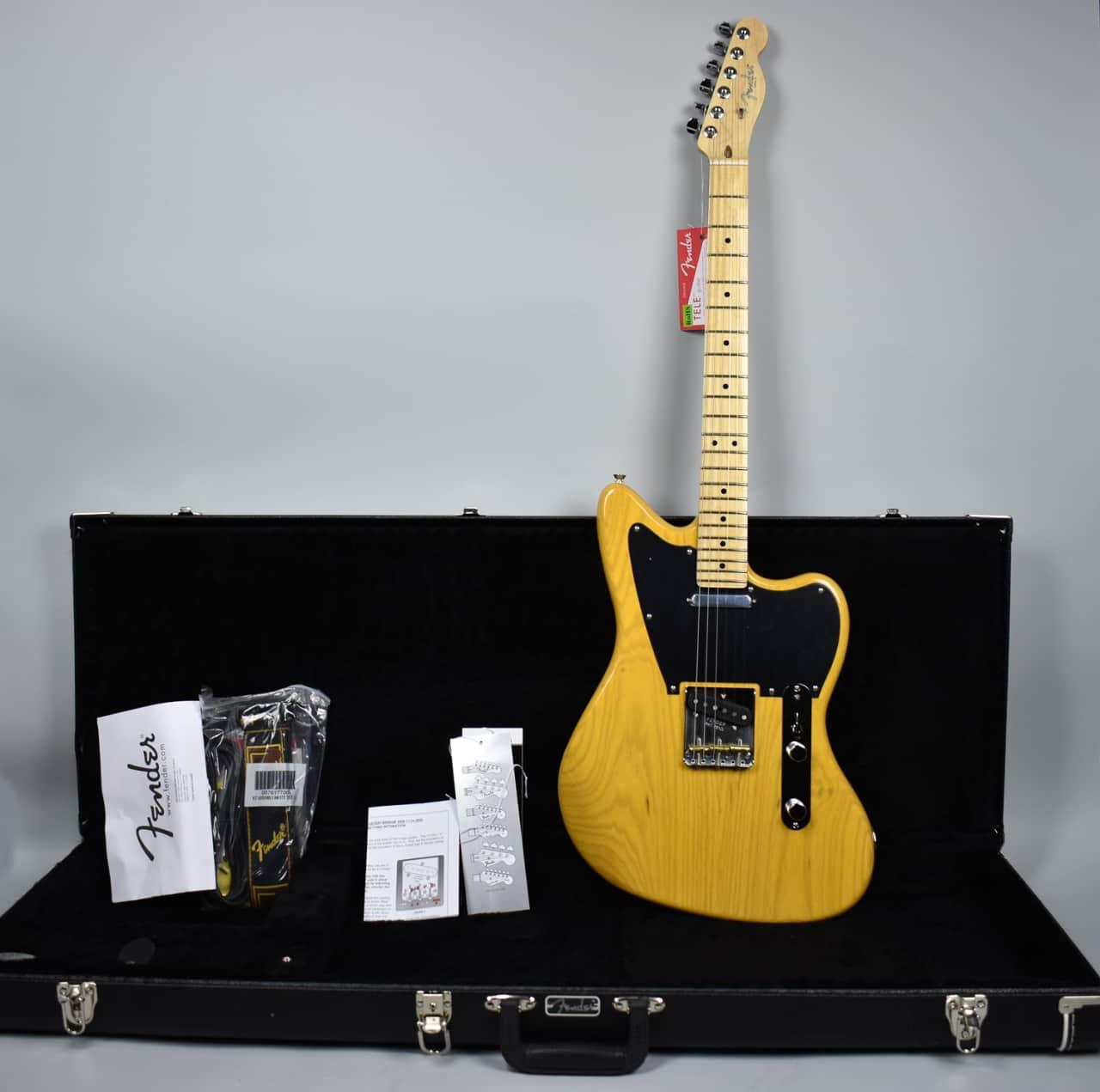 fender limited edition butterscotch blonde offset telecaster reverb. Black Bedroom Furniture Sets. Home Design Ideas