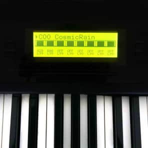 Korg 01/W NEW LCD Display replacement yellow