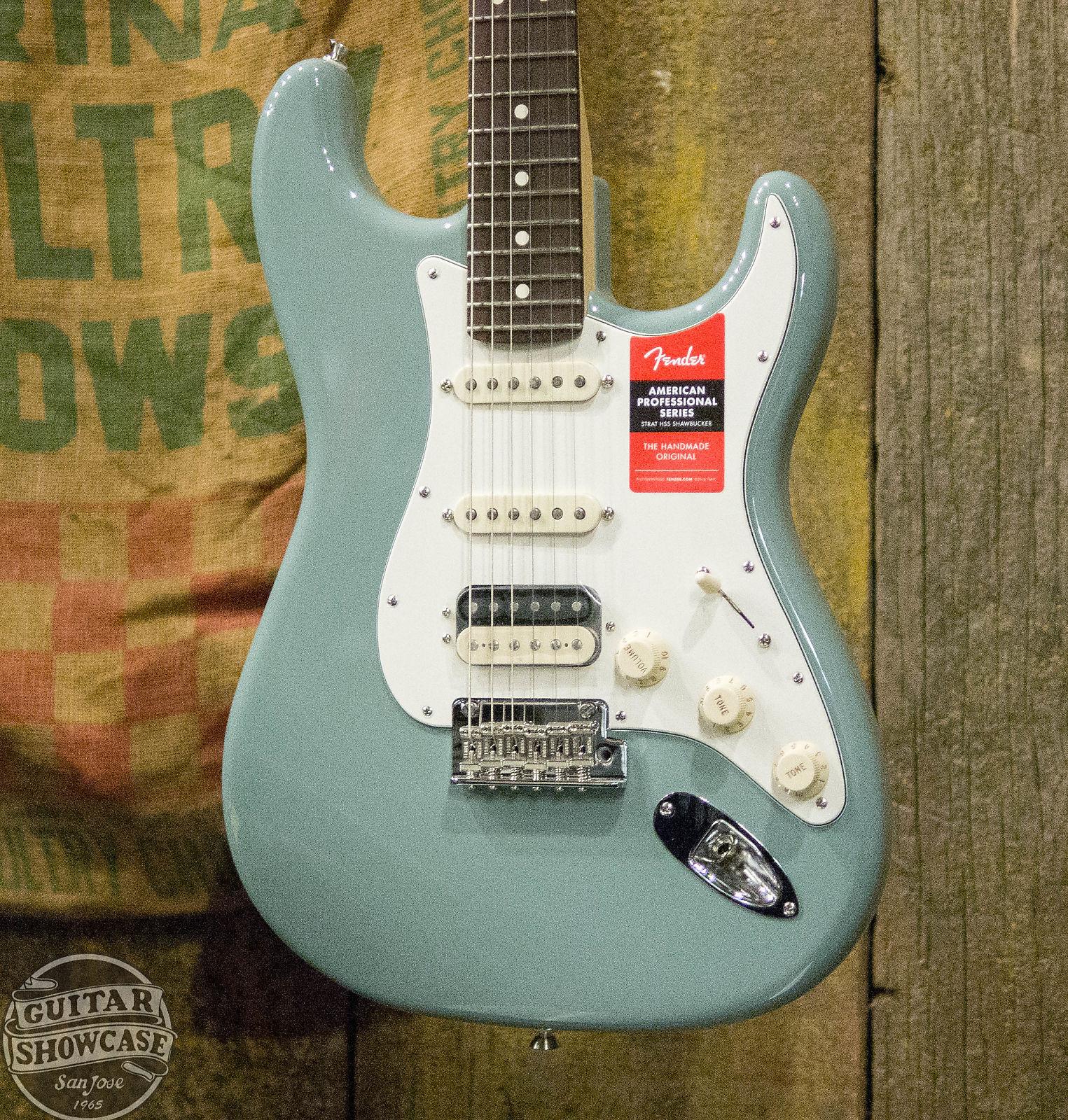 Fender American Pro Stratocaster Sonic Grey