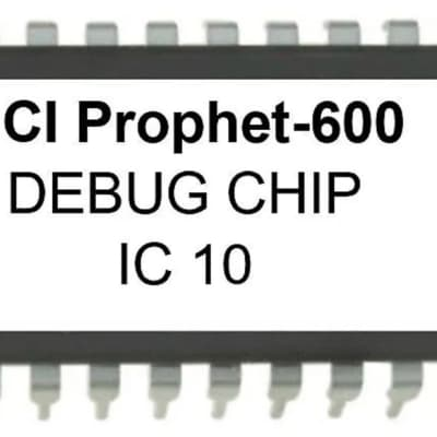 Sequential Circuits SCI Prophet 600 - Diagnostic Debug OS Firmware Repair EPROM