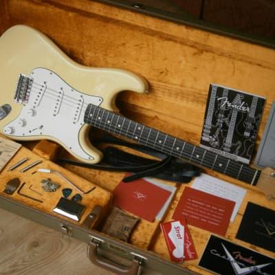 Fender Custom Shop 1960 Stratocaster NOS  2010 Vintage white for sale