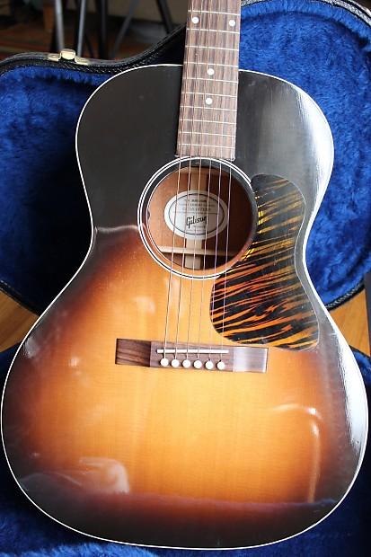gibson l00 blues king sunburst acoustic elec guitar reverb. Black Bedroom Furniture Sets. Home Design Ideas