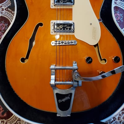 Gretsch G5622T Electromatic Center Block Double-Cut w/ Bigsby - Vintage Orange - Mint with Case