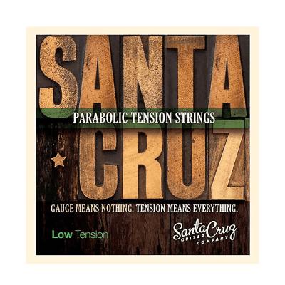 Santa Cruz Parabolic Tension Acoustic Guitar Strings Low Tension