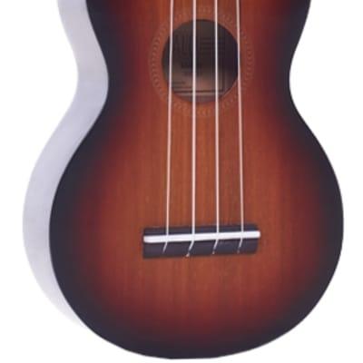 Mahalo Java 3 Tone Sunburst Soprano Ukulele