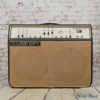 Sound CIty Concord 40W Combo Amp (USED) for sale
