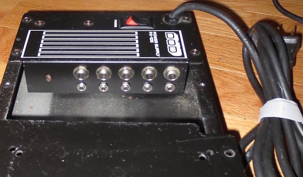 dod fx 105 vintage 1980s pedalboard power supply made for reverb. Black Bedroom Furniture Sets. Home Design Ideas