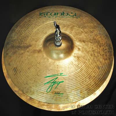 """Istanbul Agop Signature Hi Hat Cymbals 15"""""""