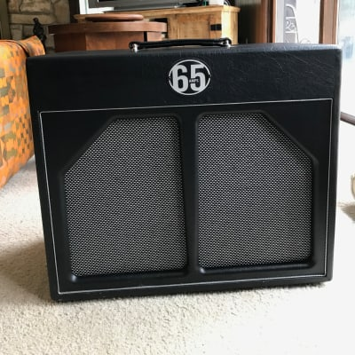 65 Amps Whiskey 1x12 cabinet  2010s Black for sale