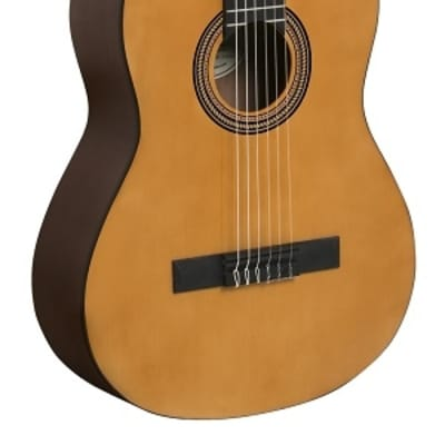 Valencia VC264 Series 260 Sitka Spruce Top 4/4 Size Jabon Neck 6-String Classical Acoustic Guitar