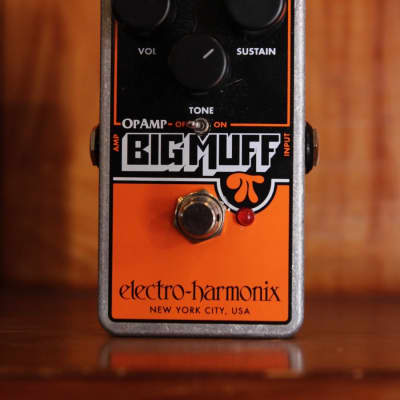Electro-Harmonix Op-Amp Big Muff Pi Fuzz Effects Pedal Pre-Owned