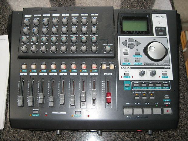 Tascam DP-01FX/CD, With Power Supply and Manual, Excellent   Reverb