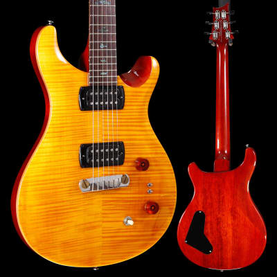 PRS Paul Reed Smith SE Paul's Guitar w/ Bag, Amber 183 6lbs 12.7oz for sale