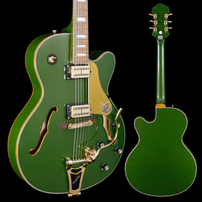 Epiphone Emperor Swingster Hollowbody, Forest Green Metallic 445 7lbs 9.4oz for sale