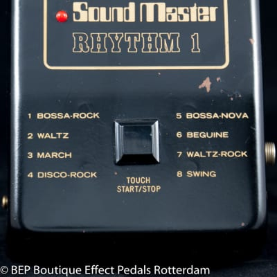 Sound Master SM-8 Rhythm 1 R-1 Analog Rhythm Box 1980 Japan
