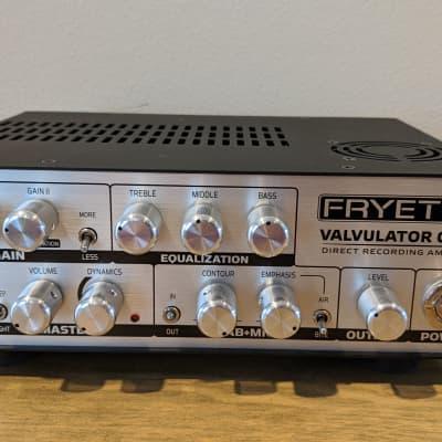 Fryette Valvulator GP/DI Direct Recording Amplifier / Super Clean with Bag for sale