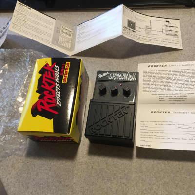 Rocktek Distortion DIR-01 w/Box AND Paperwork for sale