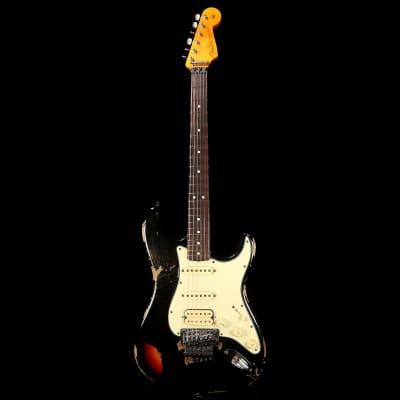 Fender Custom Shop Black Lightning Stratocaster Relic