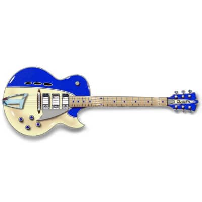 Backlund Guitars Rockerbox - Blue / Creme - Semi Hollow Electric Guitar - NEW! for sale