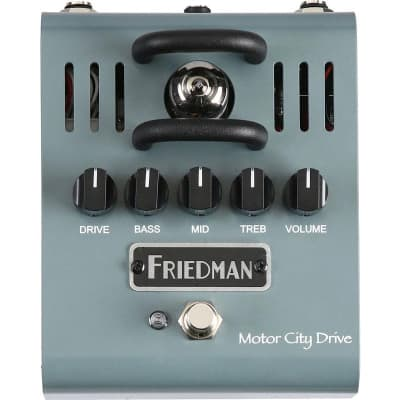 Friedman Motor City Drive 12AX7 Tube Powered Overdrive Pedal for sale