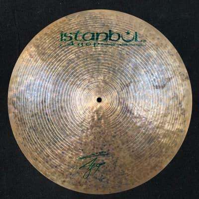 "Istanbul Agop 20"" Signature Flat Ride Cymbal - 1679g"