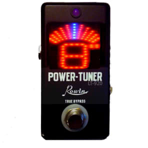 Rowin LT-920 Tuner and Power Supply + Cables all in one