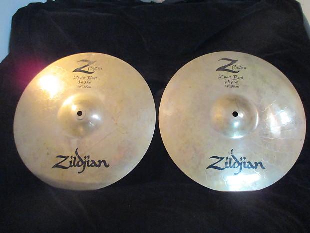 d11b7ffd41f Zildjian Z Custom 14 Inch Dyno Beat Hi Hat Cymbals