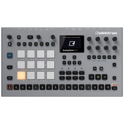 Elektron Analog Rytm MKII: 8-voice analog drum machine and sampler