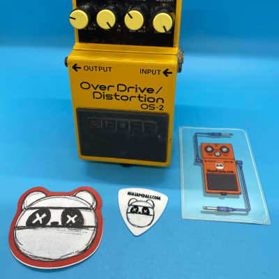 Boss OS-2 Overdrive/Distortion | Fast Shipping!