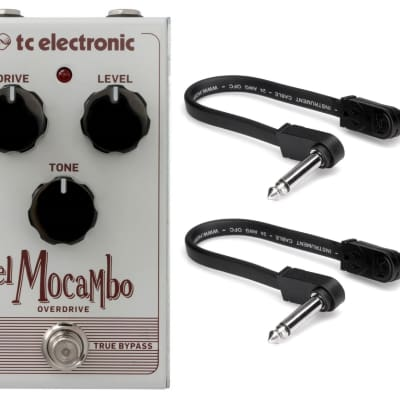 New TC Electronic El Mocambo Overdrive Effects Pedal