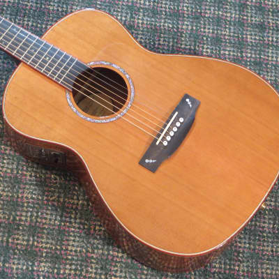 2002 Langejans KGC-6 Acoustic/Electric Guitar! Cedar/Koa/Rosewood/Ebony! w/OHSC for sale