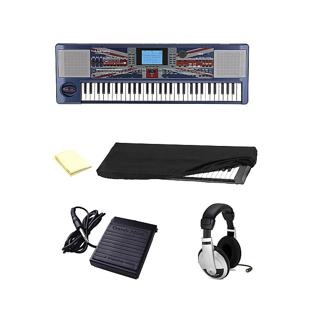 Korg LIVERPOOL Professional Arranger Keyboard With Accessories