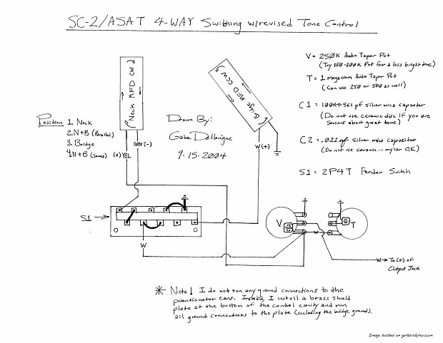 G&L ASAT Special USA Pearl White Finish G Amp L Asat Guitar Wiring Diagram on