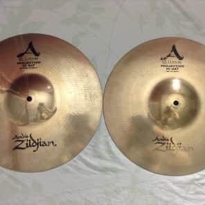 """Zildjian 14"""" A Custom Projection Hi-Hat Cymbals (Pair) 1997 - 2009"""