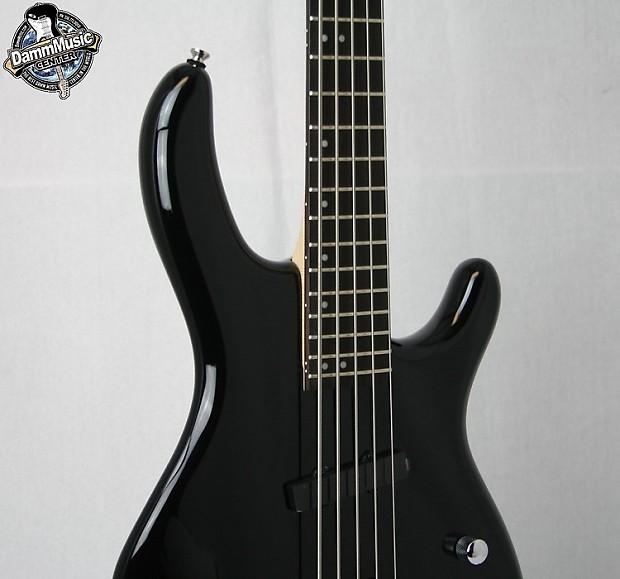 cort action 5 string electric bass guitar black reverb. Black Bedroom Furniture Sets. Home Design Ideas