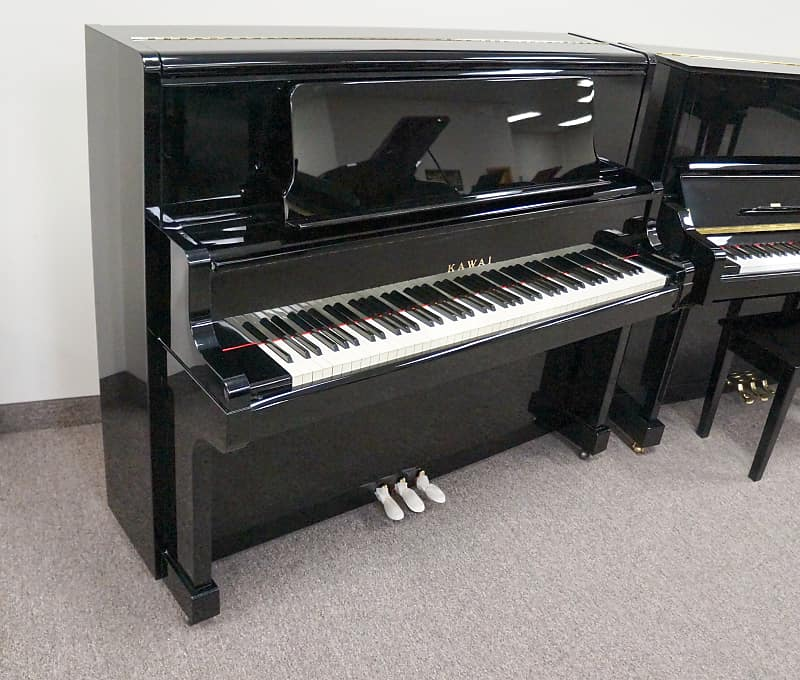 Kawai US6X Upright Piano Black Polish | Jim Laabs Music