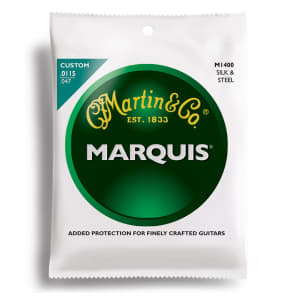 Martin M-1400 Marquis Silk & Steel Standard Acoustic Strings