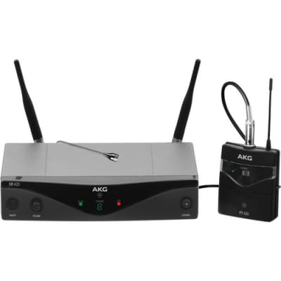 AKG WMS420 UHF  Presenter Wireless System (Band A: 530.025 to 559.00 MHz)