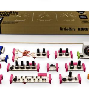 Korg littleBits Synth Kit Analog Modular Synthesizer Kit - Demo Product