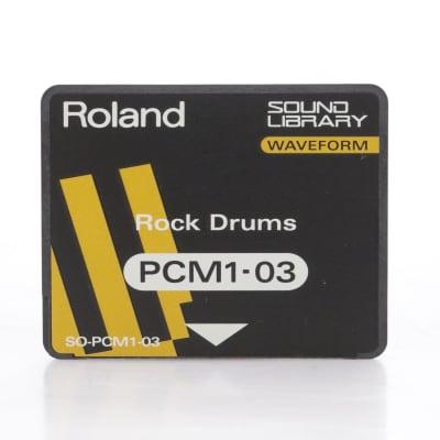 Roland SO-PCM1-03 Rock Drums Waveform Card for Roland JV-80 #44280