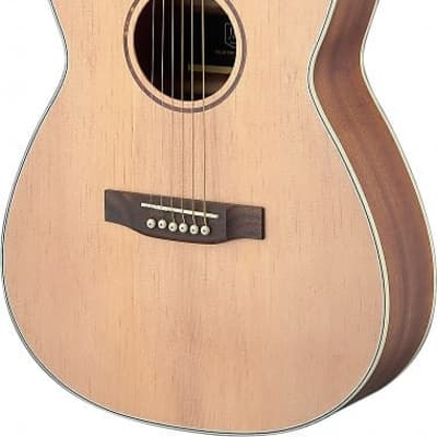 James Neligan  ASY-A LH   Asyla Series Auditorium Travel Guitar w/ Solid Spruce Top, Lefthanded